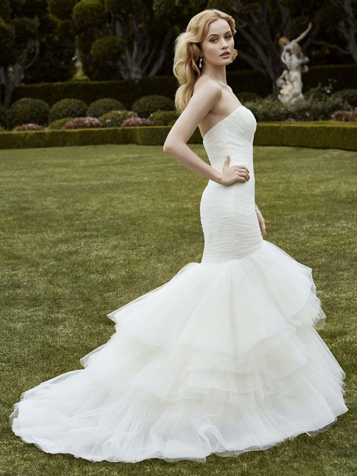Trending Mermaid wedding dress style Ivan of Blue by Enzoani The White Closet Bridal Tampa