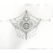 sailor moon underbust tattoo - Google Search