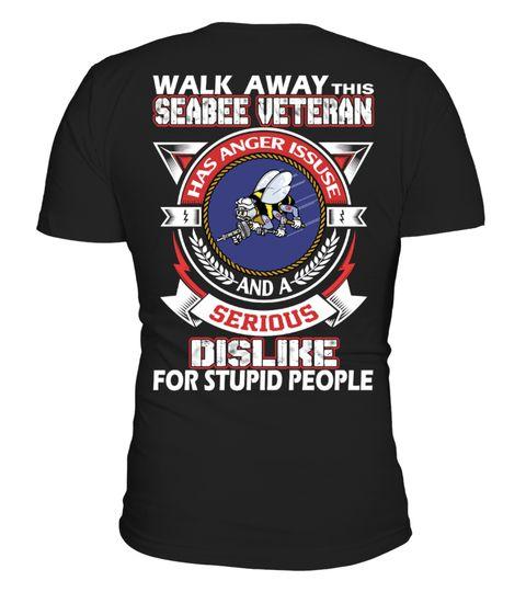 Walk away this Seabee Veteran