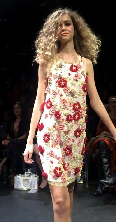 """Trelise Cooper Spring Summer 2015 Collection  """"Theatre Of Fashion Event"""", Queen Street Theatre, Auckland, New Zealand  Shop: TreliseCooperOnLine  All The Pretty Flowers 