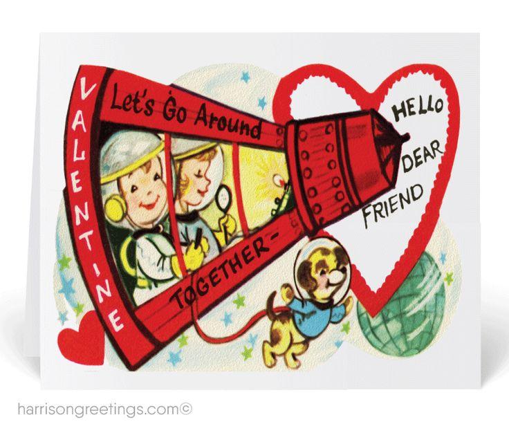 Vintage Valentines Day Ecards 16