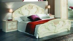 bed 11 300x170 Dipan Class Furniture Cream