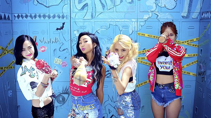 "SISTAR is mega fierce as they ""Shake It"" in summer comeback MV ft. MONSTA X"