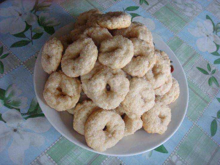 Сахарное печенье на квасе