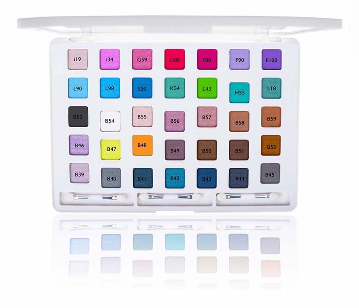 iLookBook Ultra Compact HD Makeup Set - 35 Colors Eye Shadow Palette - EYE SHADOW SETS - EYE MAKEUP - MAKEUP | SHANY Cosmetics