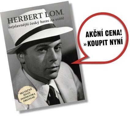 Herbert Lom – Životopis. Unikátní knižní biografie světově proslulého česko-britského herce.