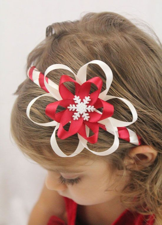 Cute & Amazing Christmas Headbands For Baby Girls & Kids