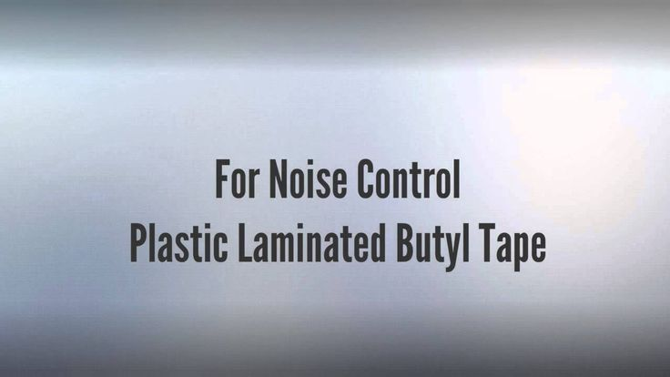 Silencing tapes, non-shrink and solvent-free Shrinking tape for noise control in vehicles including plastic and sound deadening butyl tape laminated with a thin aluminum foil. http://www.gleitmo.se/produkter/tejp/. Together with our material suppliers and converters, we can produce tapes with a wide spectrum of different qualities in customized dimensions to suit your application.