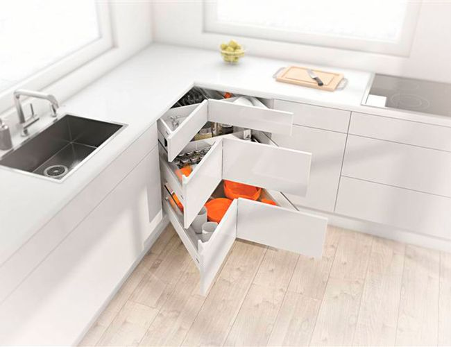 Afbeeldingsresultaat voor hoekoplossingen keukens
