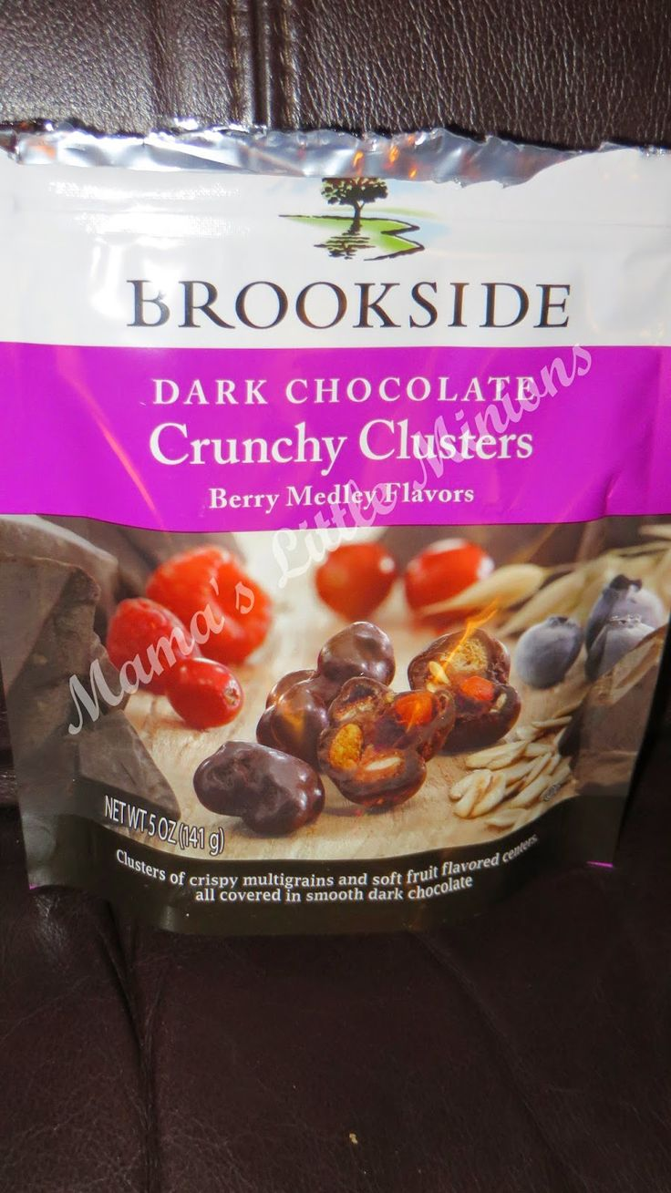 Mama's Little Minions : Brookside Dark Chocolate Crunchy Clusters #Review