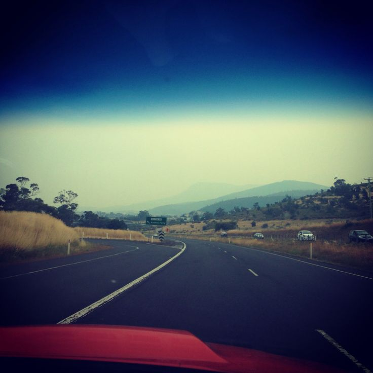 Smoke from the bushfires while on the way to cricket training in the big xr8 - #ford