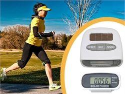 Güneş Enerjili Pedometre ve Kalori Ölçer Adımsayar