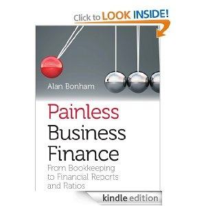 Painless Business Finance #ebook £7.69 on Kindle / Finance / cashflow / profit and loss / financial ratios / management accounts