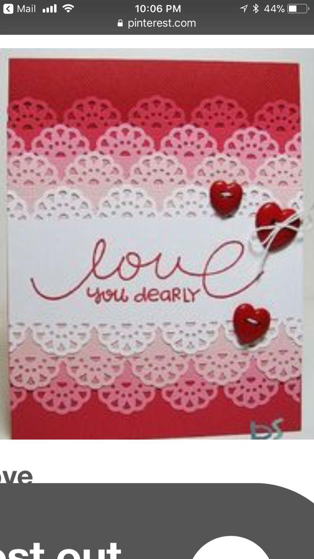 254 best Tarjetas Scrap San Valentin images on Pinterest | Heart ...