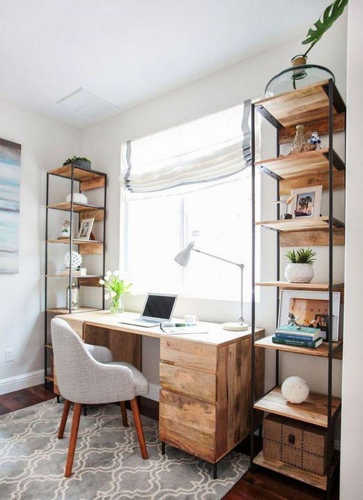 45 Elegant Home Office Decoration Ideas Homeoffice