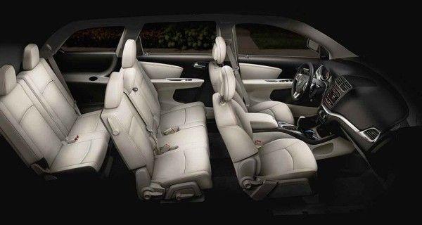 2016 Dodge Journey seats