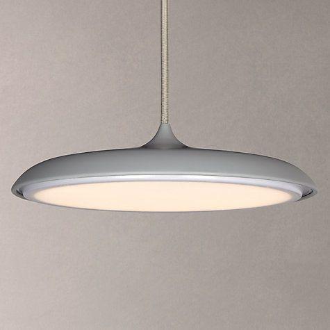 Buy Nordlux Artist LED Small Pendant Light, Grey Online at johnlewis.com