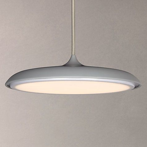 Buy Nordlux Artist LED Small Pendant Light, Grey Online at johnlewis.com