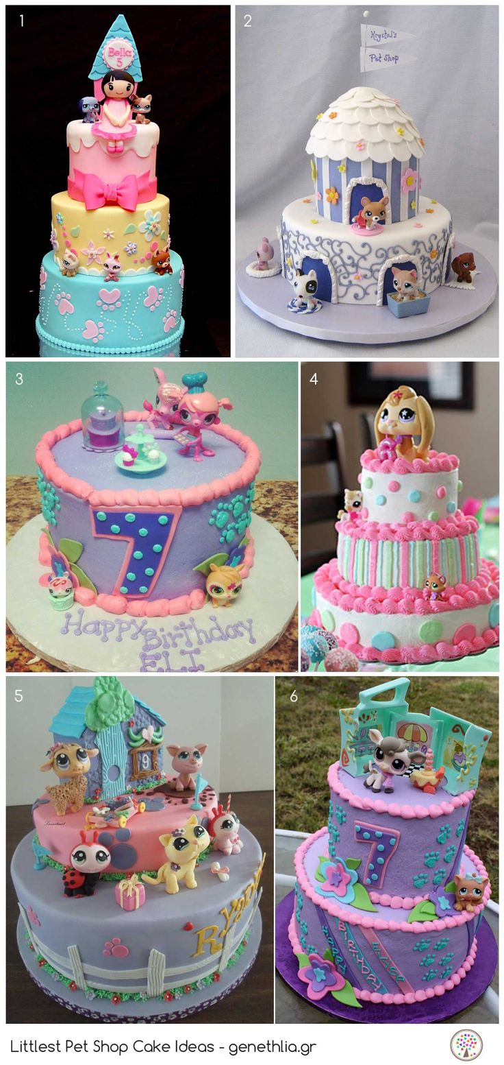 Littlest Pet Shop Cake Ideas!
