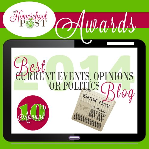 These bloggers aren't afraid to express their opinions, whether about homeschooling, current events, or politics. We don't want a strictly political blog that is run by a homeschooler unless quite a few posts have relevant information pertaining to homeschooling. News clips that affect our freedoms as homeschoolers and how homeschooling is portrayed in the …