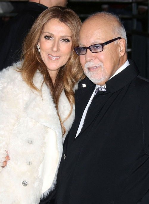 """Celine Dion & Rene Angelil Arriving At """"Vivement Dimanche"""" - rumour has it that René is dying of throat cancer!"""