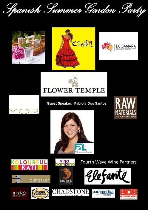 """European Women in Business Melbourne Summer Garden Party """"Spanish Fiesta"""""""