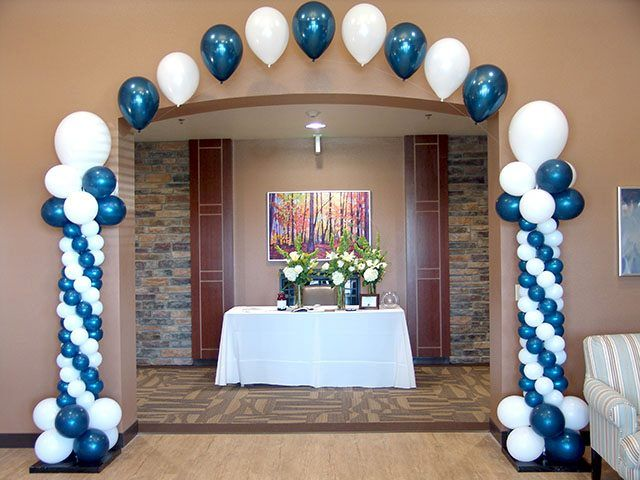 We can decorate your wedding corporate function trade for Balloon decoration graduation