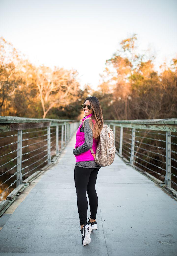 Colete Activewear Rosa Alto