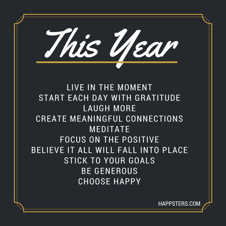 Happy *almost* 2015! Have you made any New Year's Resolutions for yourself? Below are a few of my resolutions for the year. What are your resolutions? Let me know in the comments! Today's Happy Quo...