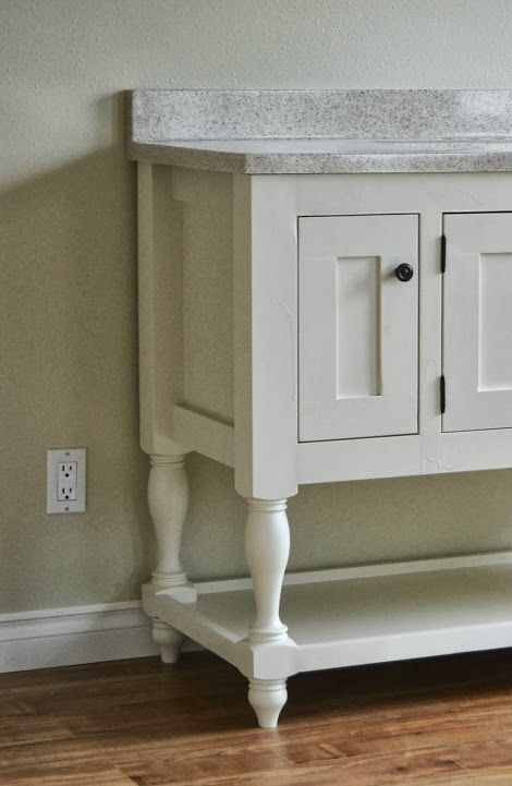 Ana White Build A 48 Quot Turned Leg Vanity Free And Easy