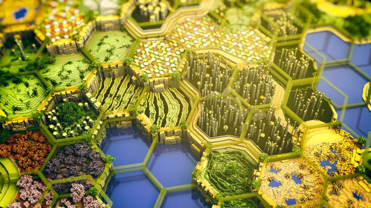 Enormous, Beautiful Minecraft Map Took 400 Hours To Build