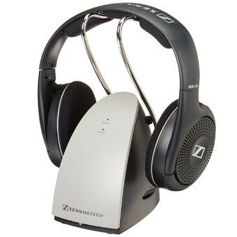 Rechargeable wireless headphones for TV