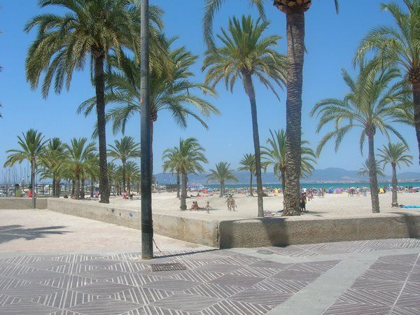 Arenal, Mallorca this is where we should be right now