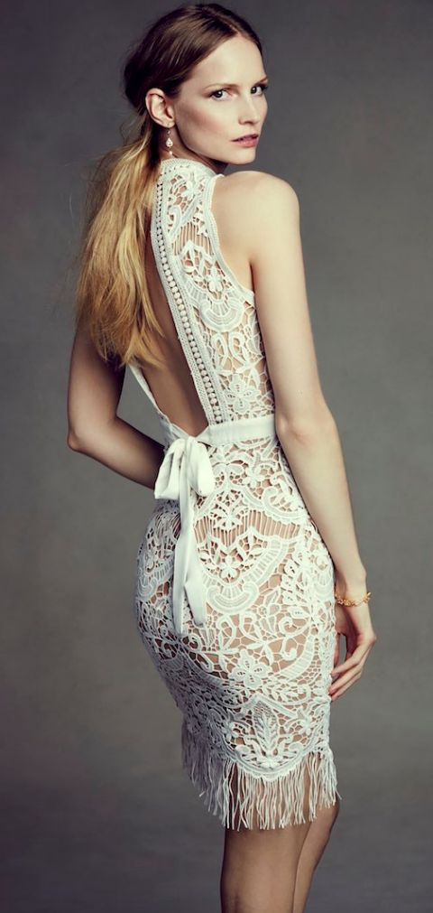 BHLDN wedding dresses with gorgeous details