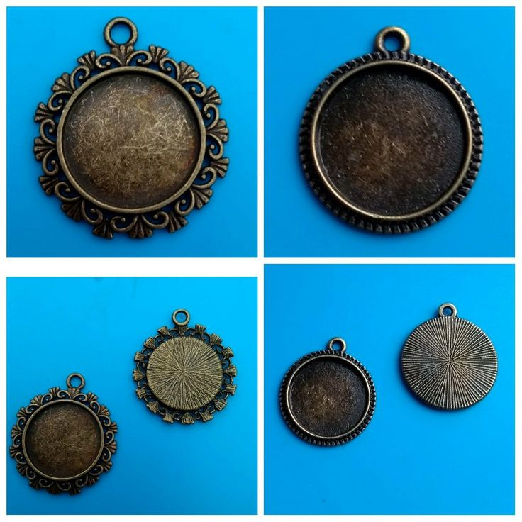 These pendant trays are now available in my #etsy shop. Please take a look. Thanks Fiona #pendants #cabochon