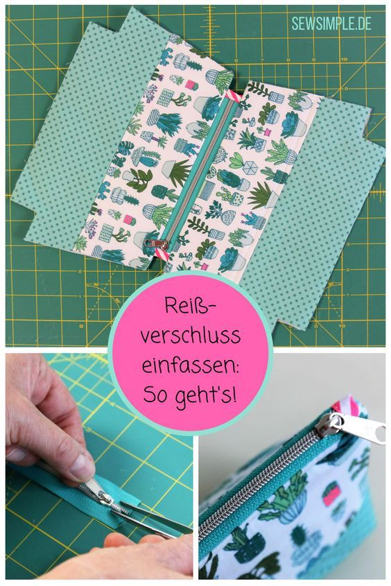 ♦ Zippered zips & stitching made easy