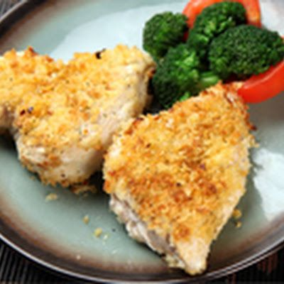 Air Fried Panko Chicken Recipe Overlays Chicken And More More