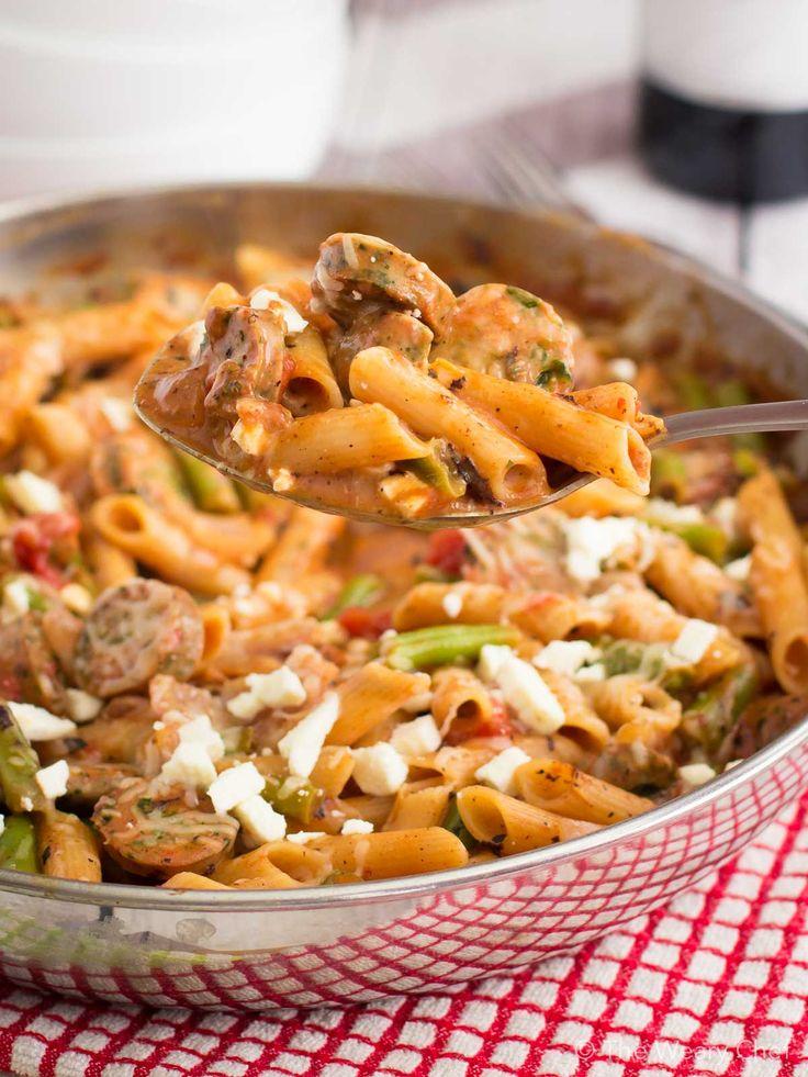 Italian sausage pasta bake ... TNT 1b1cc871ac3d849310e21ffc2a4da21c