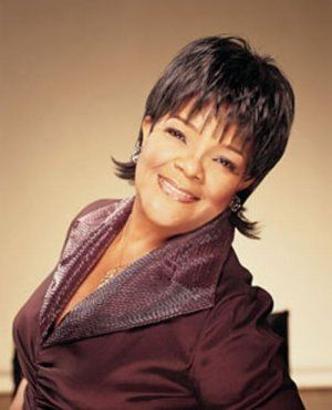 Shirley Caesar...gospel singer, songwriter and recording artist. Yes, Amen, she sings her heart out....