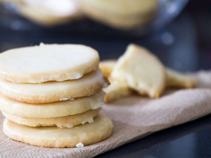Glazed Limoncello Cookies recipe from Trisha Yearwood via Food Network