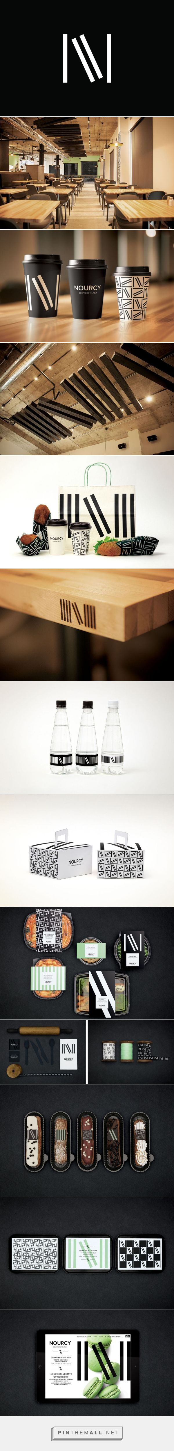 New Brand Identity for Nourcy by lg2boutique