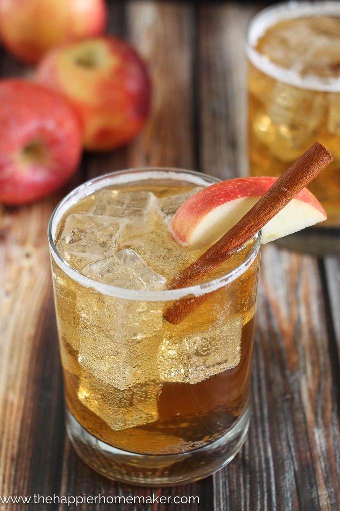Apple cider ginger beer cocktail recipe apple cider for Cocktail ginger beer