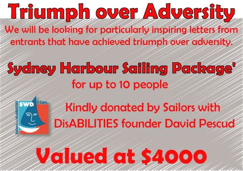 Triumph over Adversity Prize for the Make it a Red Letter day Competition