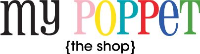 My Poppet - The Shop - selling a few items from the blog including an ebook