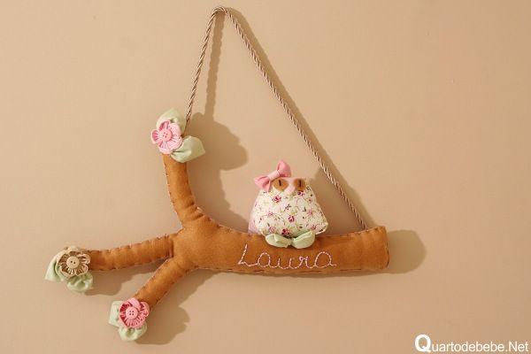 decoração corujas para bebê