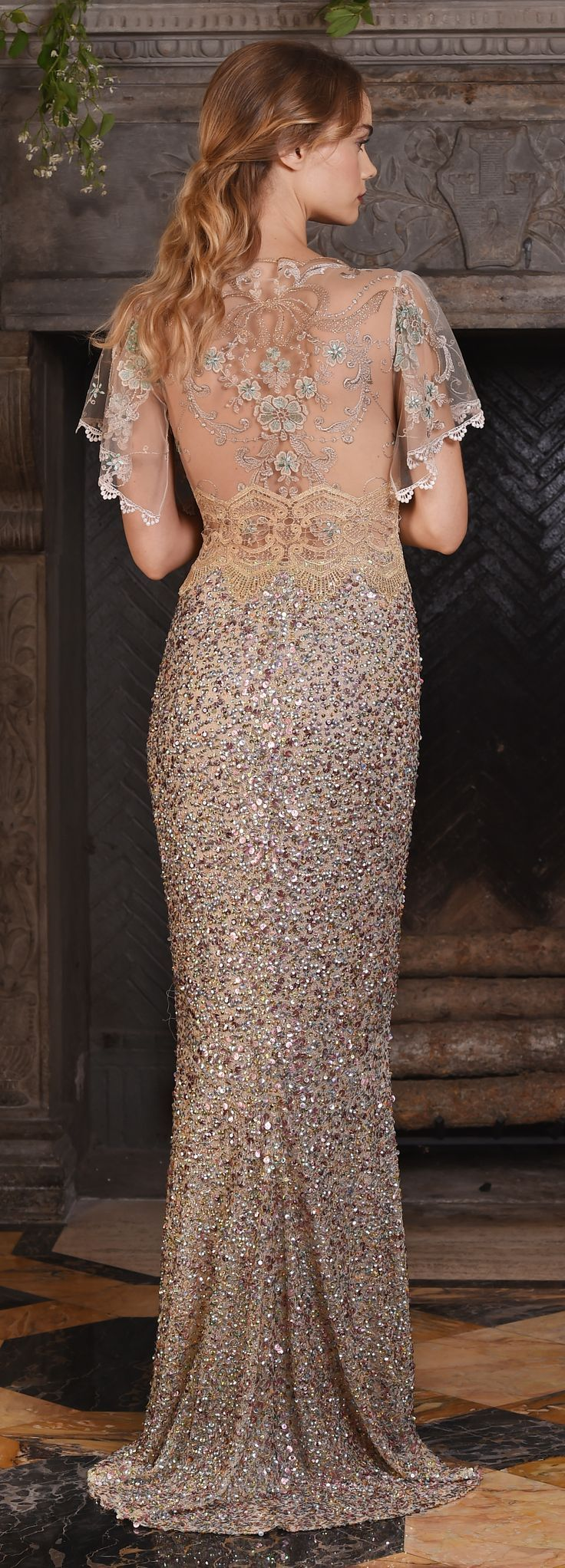 Zodiac by Claire Pettibone from The Four Seasons couture bridal gown collection