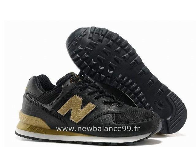 new balance femme 574 noir et or