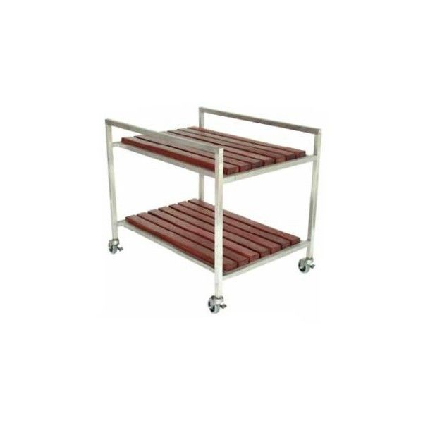 Modernoutdoor Talt Bar Cart ($1,999) ❤ liked on Polyvore featuring home, kitchen & dining, bar tools, outdoor serving carts, outdoor tea cart and outdoor bar cart