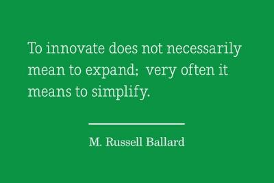 innovation et pensée stratégique : simplify