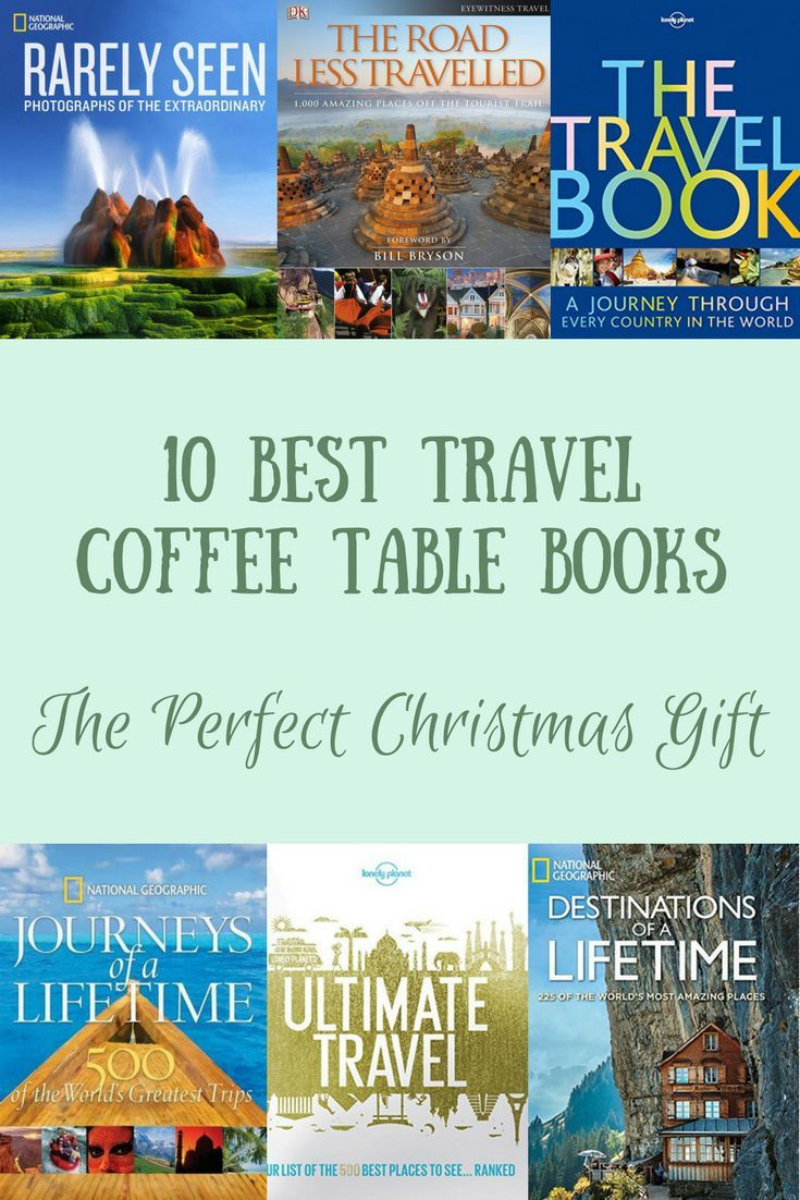 10 Best Travel Coffee Table Books For Inspiring Wanderlust